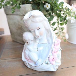 Vintage Mother Mary & Baby Jesus